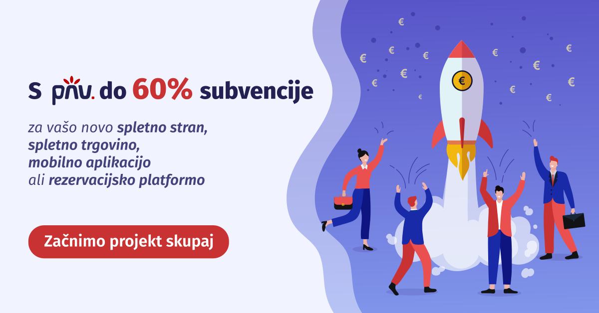 Do 6o % cenejše spletne strani, trgovine in mobilne aplikacije!