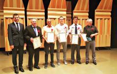 Podjetnika, športnika in policisti so slatinski nagrajenci