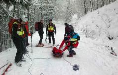 V eni zimi tudi do 500 klicev na pomoč