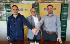 Branko Tamše še naprej trener Celjanov