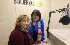 Radijsko srečanje s Suzi Kvas, direktorico JZ Socio