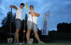 Poletni dvoboj tokrat na golf igrišču