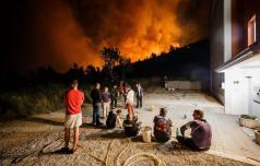 Celjanka v Dalmaciji: za Splitčani je huda noč