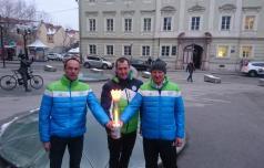 Slovenska olimpijska bakla tudi v Celju