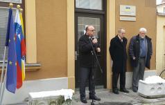 Vinko Gorenak s poslansko pisarno v Celju
