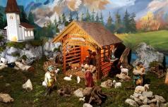 Jaslice pripovedujejo božično zgodbo