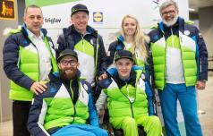 Na paraolimpijskih igrah za Slovenijo Jernej Slivnik