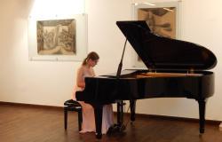 Klavirski recital Sare Köveš ob 60-letnici GŠ Lendava