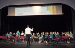 Koncert ob 200-letnici javnega glasbenega šolstva v gledališki in koncertni dvorani v Lendavi