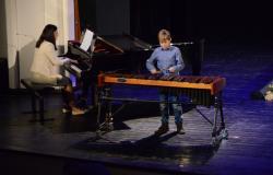 Skupni koncert učencev GŠ Lendava in GŠ Lenti