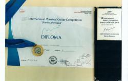 Mednarodno tekmovanje kitaristov v Gorizia (Italija)