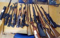 Konjičanoma zasegli orožje in konopljo