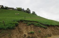 V šmarski občini obilno deževje prineslo plazove