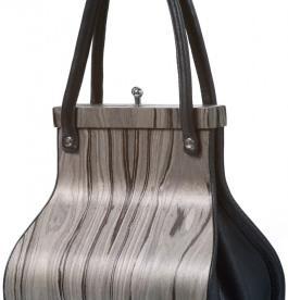 Torbica Wooditbe - sivi palisander furnir