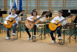 Zaključni koncert učencev GŠ Lendava na disloc. oddelku Črenšovci
