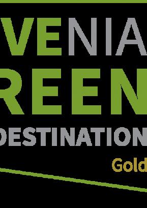 Prejem znaka Slovenia Green Destination Gold
