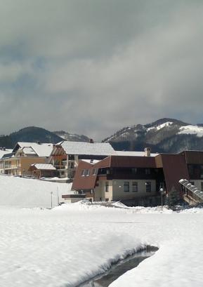 Zdravstveni dom v Gorenji vasi v marcu 2013, ko je občina za njegovo energetsko sanacijo na razpisu ministrstva za infrastrukturo in prostor prejela dobrih 200.000 evrov. Foto: P. N.