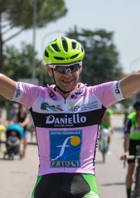 Aleš Hren iz Srednje vasi, zmagovalec letošnjega Gira del Friuli. Foto: arhiv Kolesarkega društva LPP