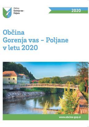Naslovna stran publikacije o izvedenih občinskih projektih v lanskem letu