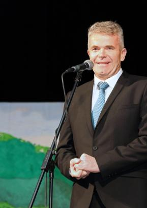 Župan Milan Čadež Foto: Vito Debelak