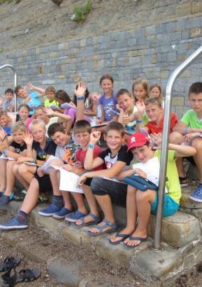 Petošolci so prve dneve pouka preživeli v šoli v naravi. Foto: arhiv šole