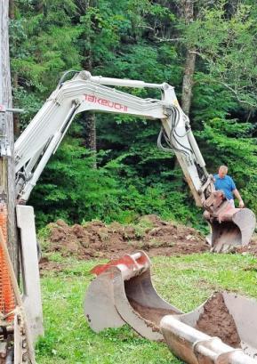Junija se je začela gradnja dveh novih vodovodnih sistemov v občini. FOTO: ARHIV OBČINE