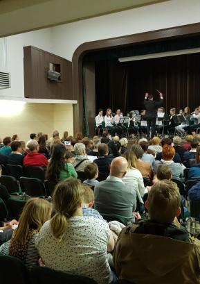Nastop učencev Glasbene šole Škofja Loka v Poljanah Foto: Glasbena šola Škofja Loka
