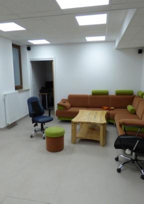 Novi prostori KŠPD za študente in dijake v pritličju gorenjevaškega zdravstvenega doma Foto: Jure Ferlan