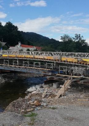 Novi most v Poljanah