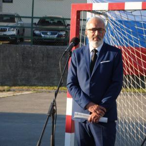 Slavnostni govornik na Trebiji, mag. Igor Omerza FOTO: ANTON BOGATAJ