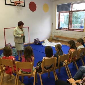 Prvošolci v Javorjah Foto: arhiv PŠ Javorje