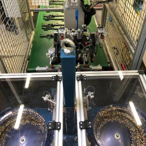 Podjetje Polycom je bilo na natečaju z bronastim priznanjem nagrajeno za avtomatiziran sistem za doziranje insertov. Foto: arhiv podjetja Polycom