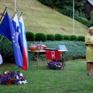 Zbrane je nagovorila dr. Rosvita Pesek. Foto: Franc Dolenec