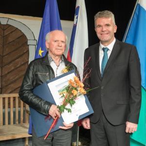 Vinko Verčič Foto: Vito Debelak za arhiv občine