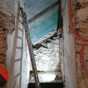 Obnovitvena dela v notranjosti Foto: Občina Gorenja vas - Poljane