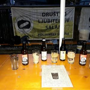 Svetovni dan piva so letos v začetku avgusta obeležili tudi v Poljanah. Foto: Jure Ferlan