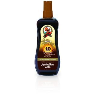 Krema za zaščito pred soncem z bronzerjem ZF 10, 237ml, sprej gel   - Sončne Kreme
