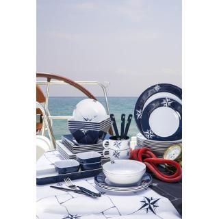 Northwind Set okroglih krožnikov in skodelic, 24 kos   - Kuhinja in Jedilnica