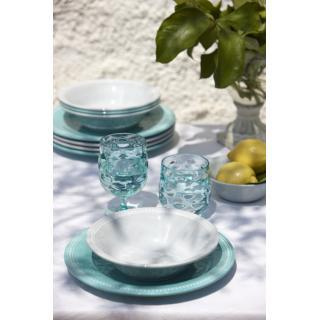 Harmony servirni ovalni krožnik Silver 2 kos   - Kuhinja in Jedilnica