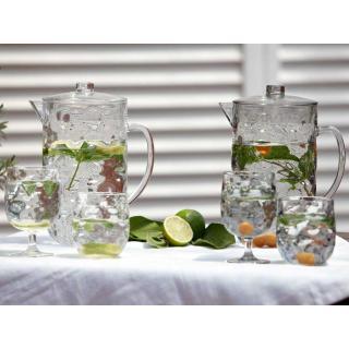 Moon Silver kozarec za vino, 6 kos   - Kuhinja in Jedilnica
