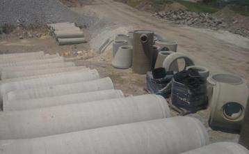 Prefabricirane betonske cevi za meteorno kanalizacijo