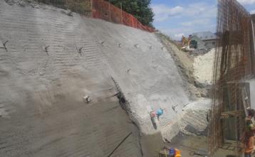 Zaščita in utrditev gradbene jame