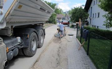 Gradnja kanalizacijskega sistema na Trebiji