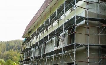 Končni sloj fasade zgoraj 22.4.2014