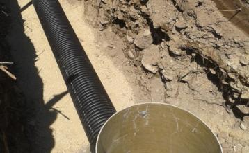 Prestavitev fekalne kanalizacije