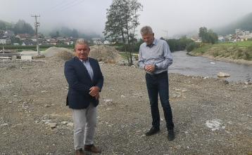 Minister mag. Andrej Vizjak in župan Milan Čadež