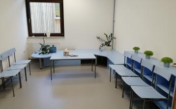 Prenovljena čakalnica dr. Andreje Krt Lah. Foto: Andreja Krt Lah