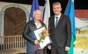 Vinko Verčič, prejemnik priznanja občine