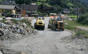 Nižanje terena v Predmostu
