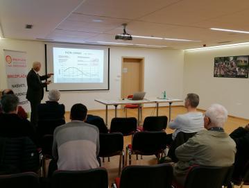 Delavnica Učinkovita raba energije in obnovljivi viri energije za občane občine Gorenja vas - Poljane v mali dvorani Sokolskega doma v Gorenji vasi